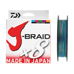 DAIWA - Daiwa J-Braid 8B 300 M Multicolor İp Misina