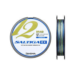 DAIWA - Daiwa Saltiga 12 Braid Multicolor İp Misina 300 Metre