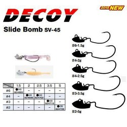 Decoy - Decoy SV-45 Slide Bomb Jig Head