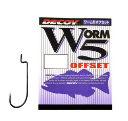 Decoy - Decoy Worm5 Offset Hook Offset İğne