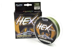 FUJIN - Fujin Hex Braid 4x 150mt Moss Green PE İp Misina