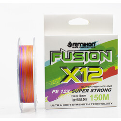 Remixon - Remixon Fusion 150m X12 Multi Color İp Misina