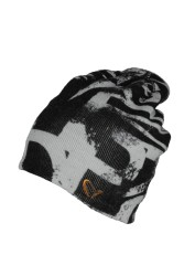 Savage gear - Savage gear Printed Beanie Black/Grey