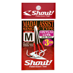 Shout - Shout Madai Assist Single Olta İğnesi