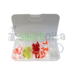 SO Fishing - SO Fishing Orak Kuyruk Silikon Set 4 Cm (50 Adet)
